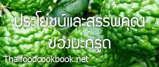 ประโยชน์และสรรพคุณของมะกรูด